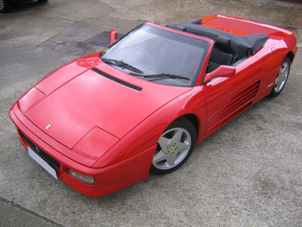 Arriving shortly 1994 Ferrari 348 Spider -One of only 68 rhd examples