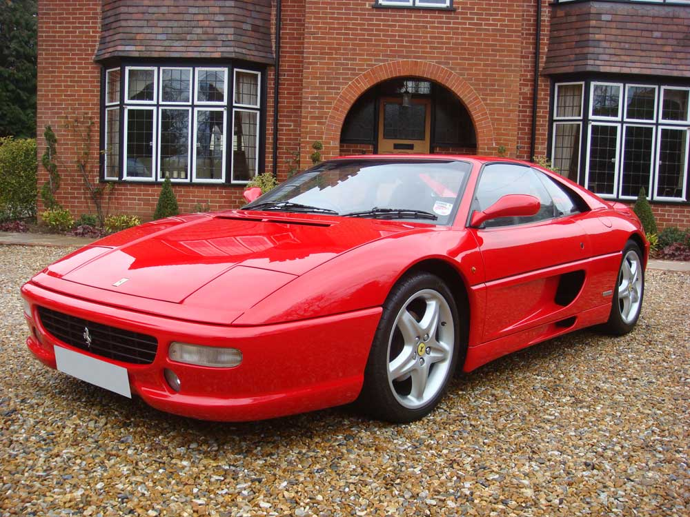 Two owner  1997 Ferrari 355 GTS