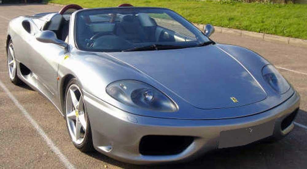 SOLD -2001 Ferrari 360 F1 Spider in Grigio Titanio  �42,990