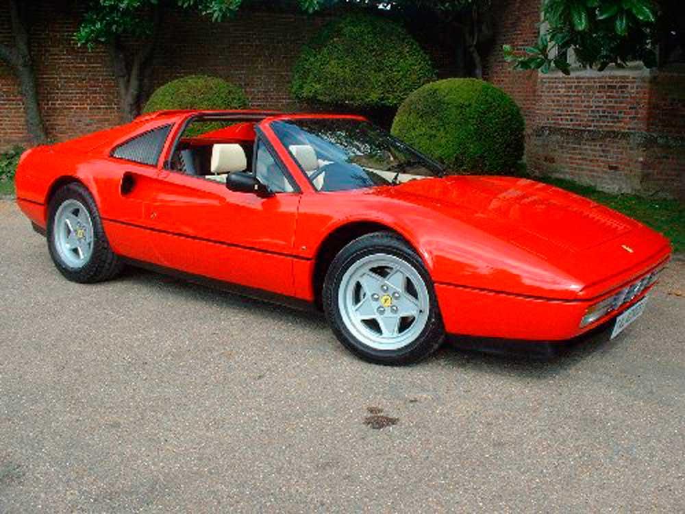1988 Ferrari 328 GTS-Three owners/24,000 miles