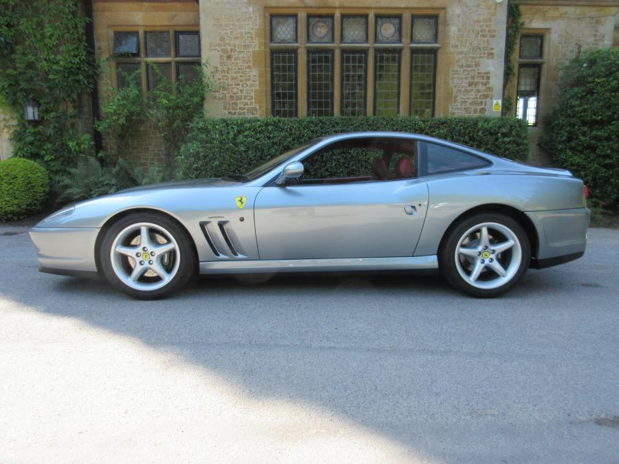 SOLD-ANOTHER KEENLY REQUIRED 1998 Ferrari 550 Maranello