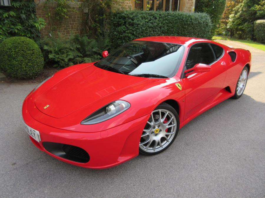 SOLD-ANOTHER REQUIRED 2005 Ferrari 430 manual in Rosso Scuderia