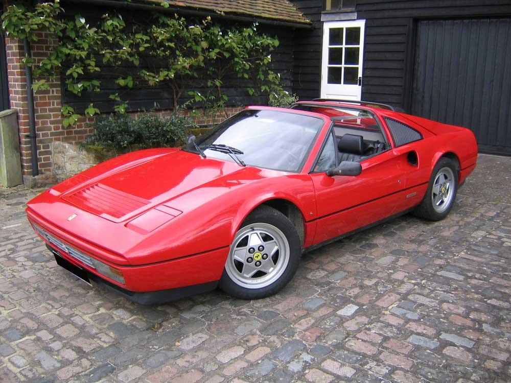 1988 Ferrari 328 GTS -Left hand drive.