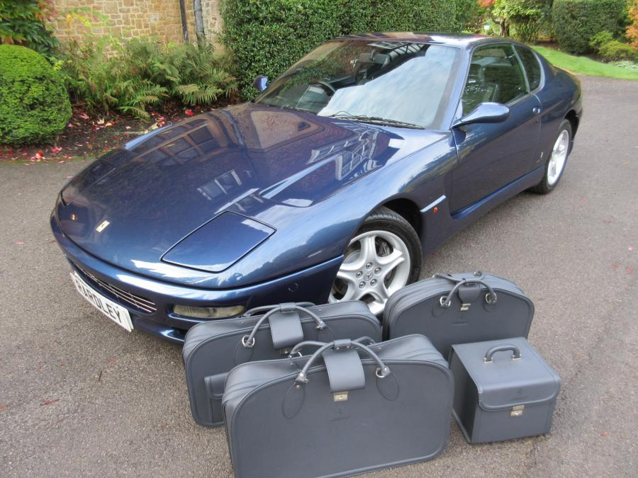 Ferrari 456 GT with fitted luggage