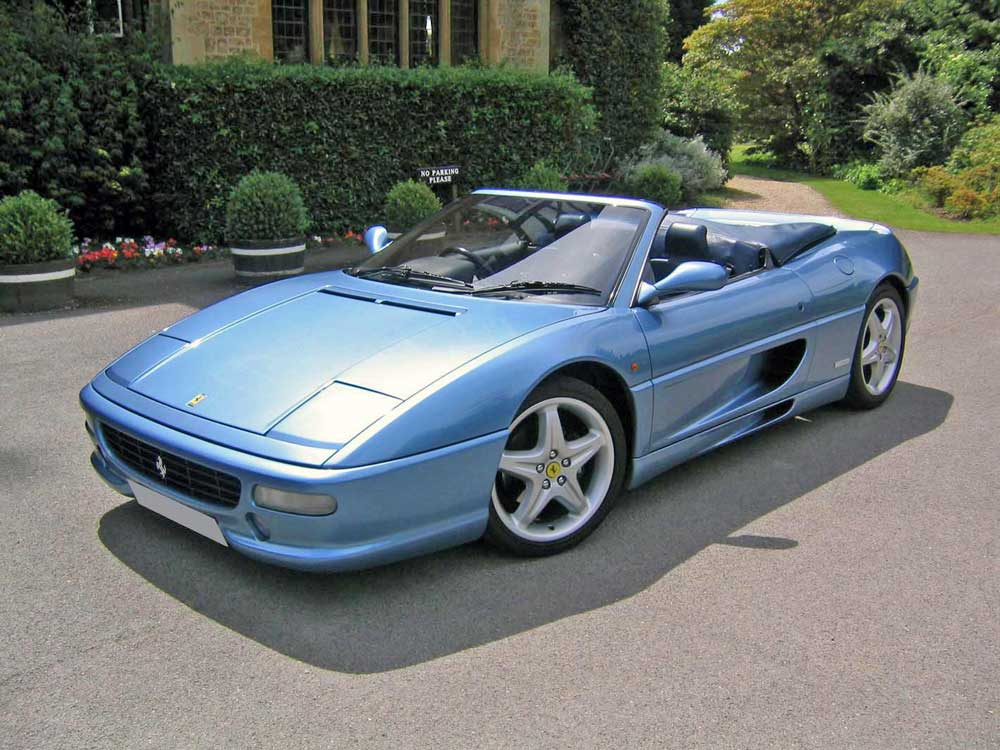 1998 Ferrari 355 F1 spider- UNIQUE!