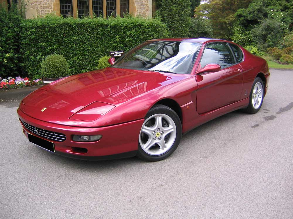 1996 Ferrari 456 GT 6-speed manual.Three owners