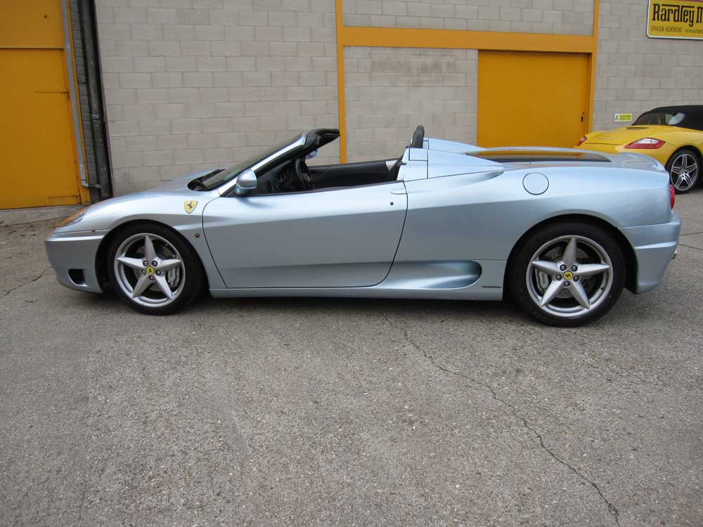 2004 Ferrari 360 Spider six speed manual