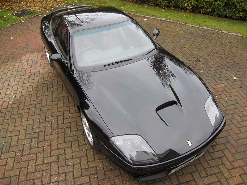 2001 Ferrari 550 Maranello with only 22,700 miles