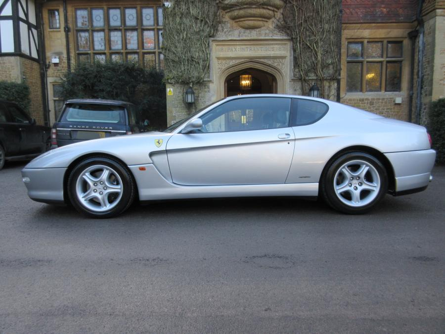 SOLD-Another required.Ferrari 456 M GT 6-speed