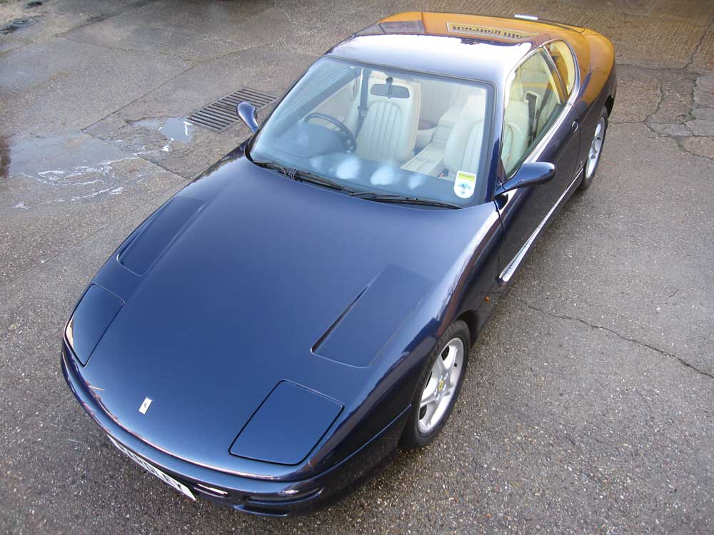 1996 Ferrari 456 GT six speed manual .Available shortly