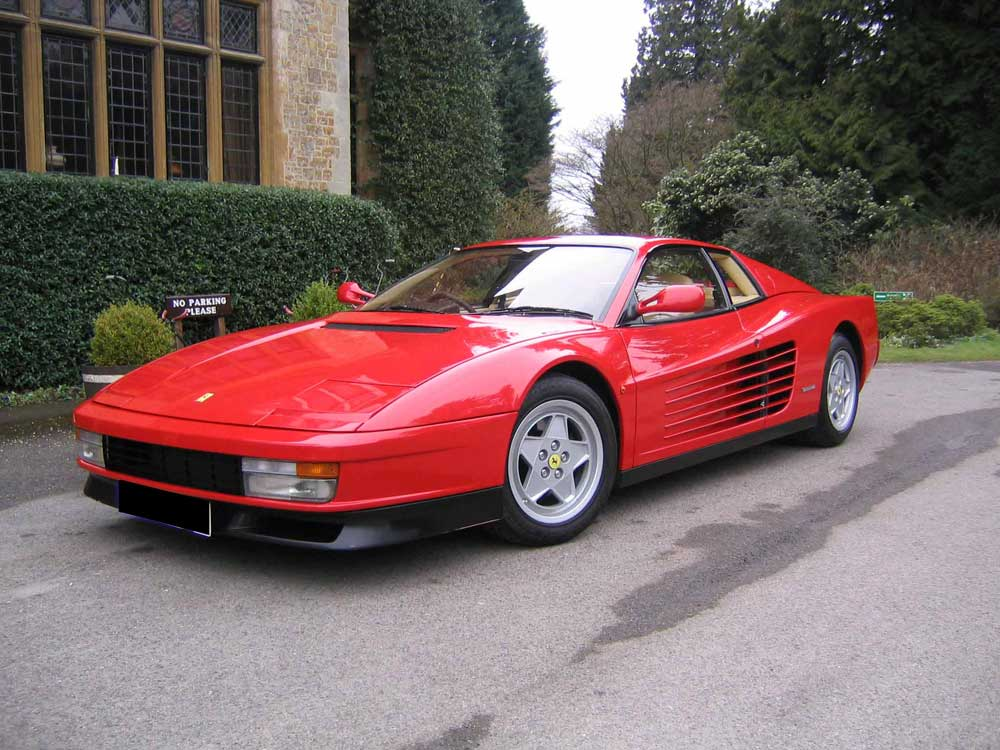 Arriving shortly 1991 Testarossa- 4,700 miles,yes 4,700 miles