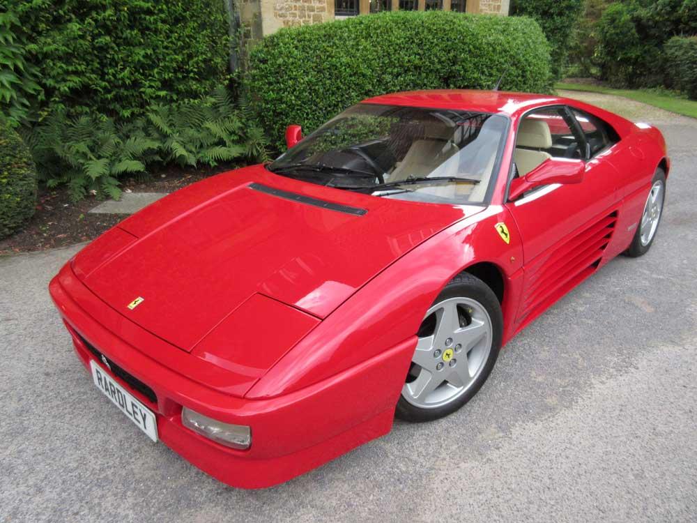 Arriving shortly 1993 Ferrari 348 TB