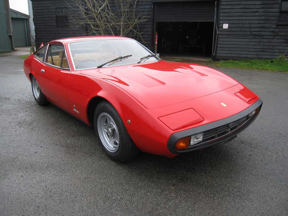 1973 Ferrari 365 GTC/4 One owner from new!