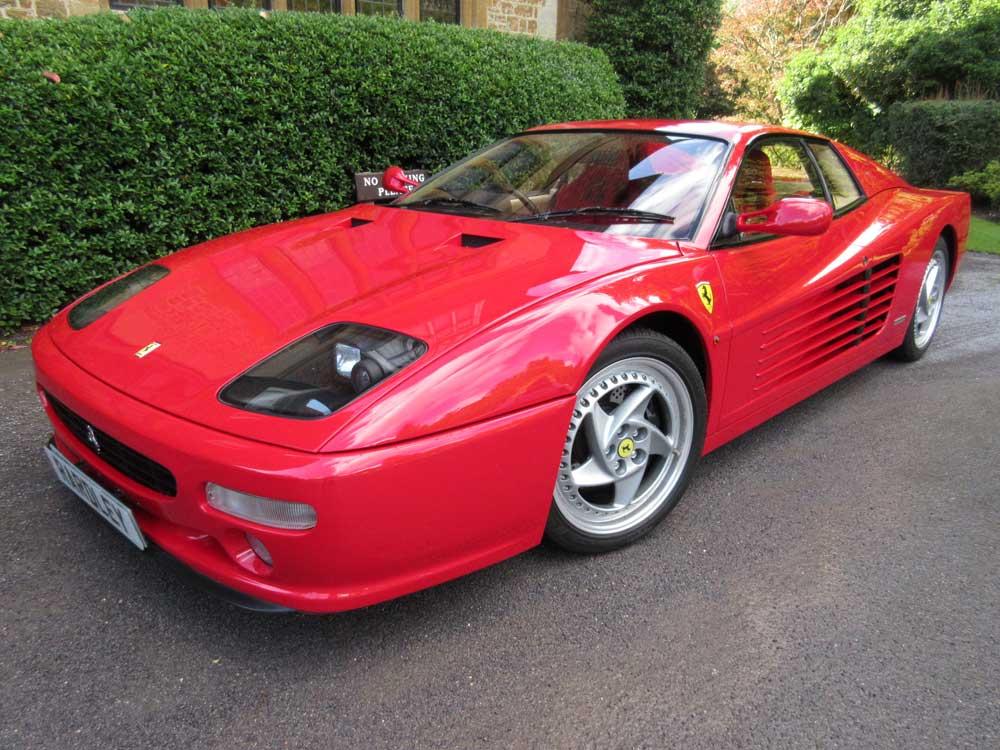 Ferrari 512 M-Demo plus one owner