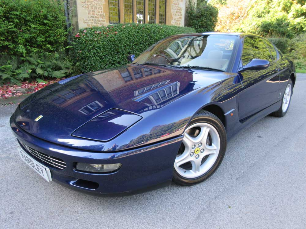 1995 Ferrari 456 GT 6-speed manual