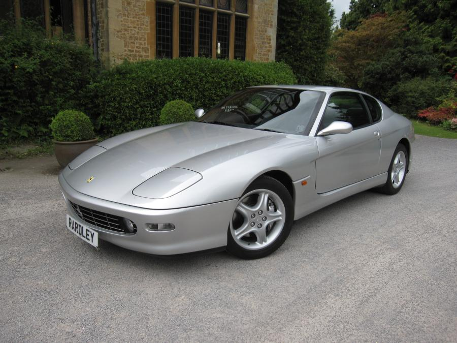 2001 Ferrari 456 M GT 6-speed manual.One of 9