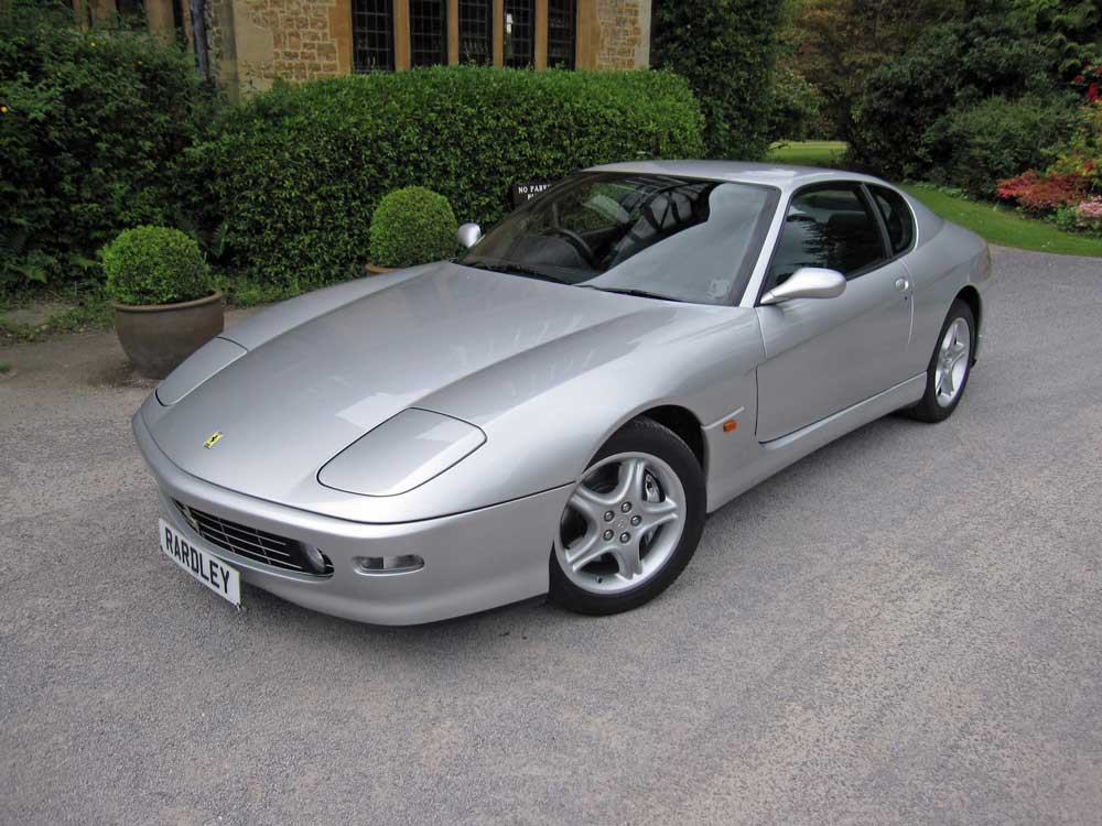 2001 Ferrari 456 M six speed manual -One of only 33 manual