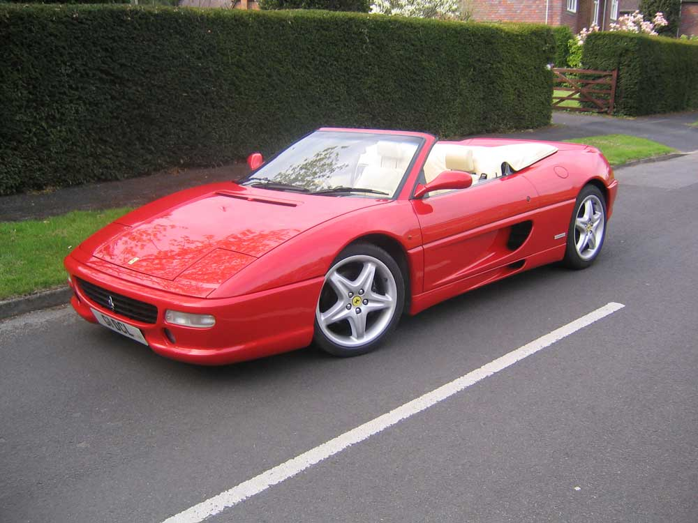 1996 Ferrari 355 Spider 6-speed manual
