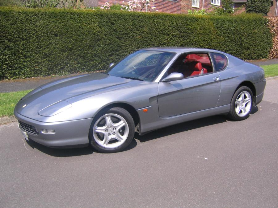 1999 Ferrari 456 M GTAutomatic with luggage