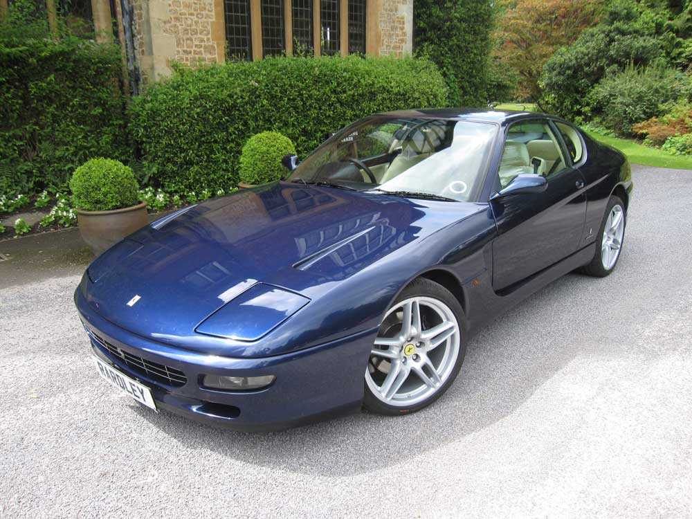 Available shortly 1995 Ferrari 456 Gt 6-speed manual