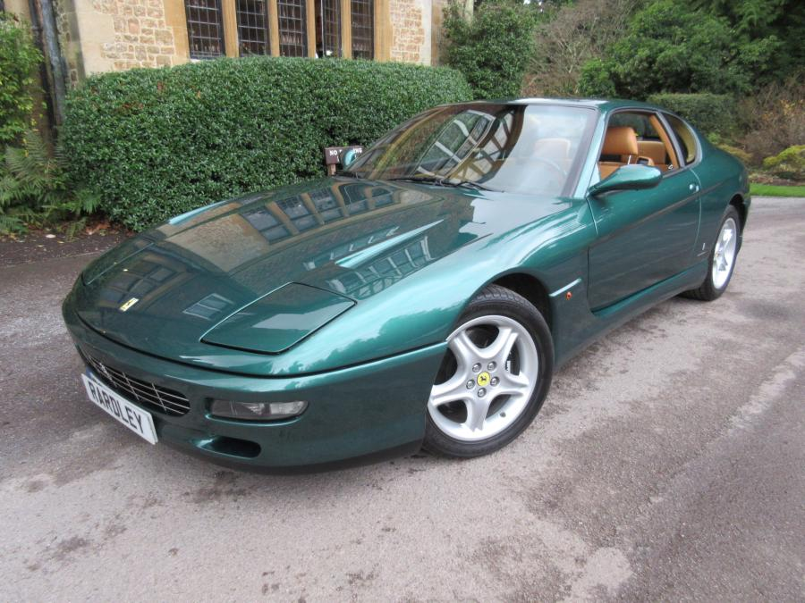 1996 Ferrari 456 GT left hand drive Two owners/10,000 miles