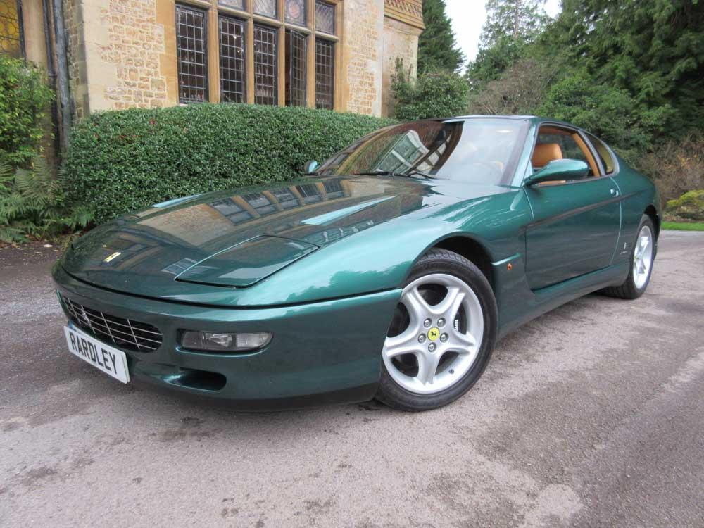 1997 Ferrari 456 GT-9,000 miles Left hand drive