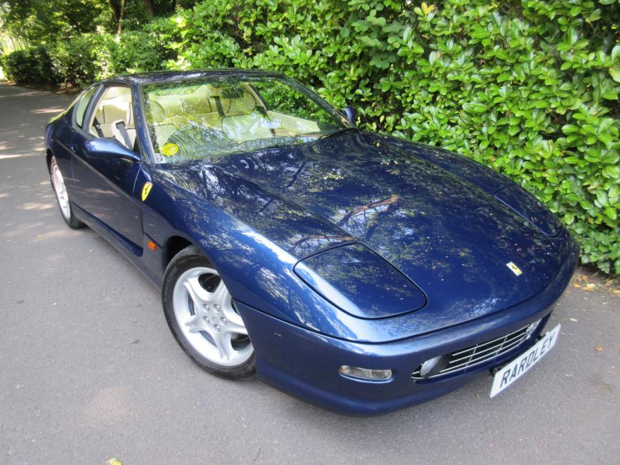 SOLD-Another required 1999 model Ferrari 456 M GTautomatic with 20,100 miles