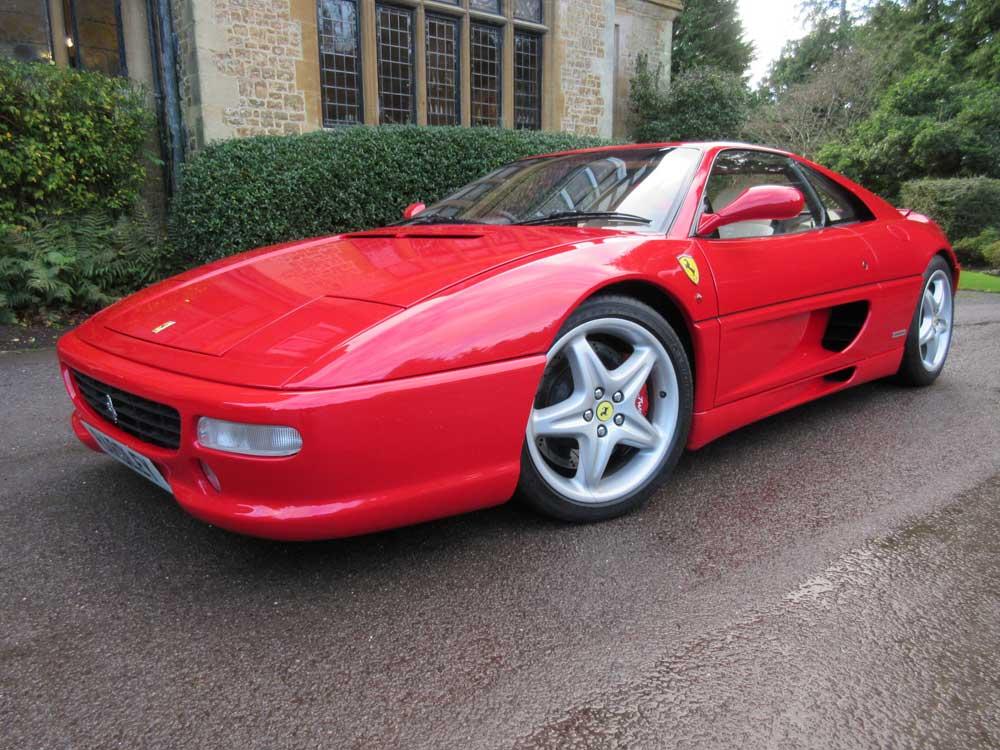 1998 Ferrari 355 Berlinetta 6-speed manual