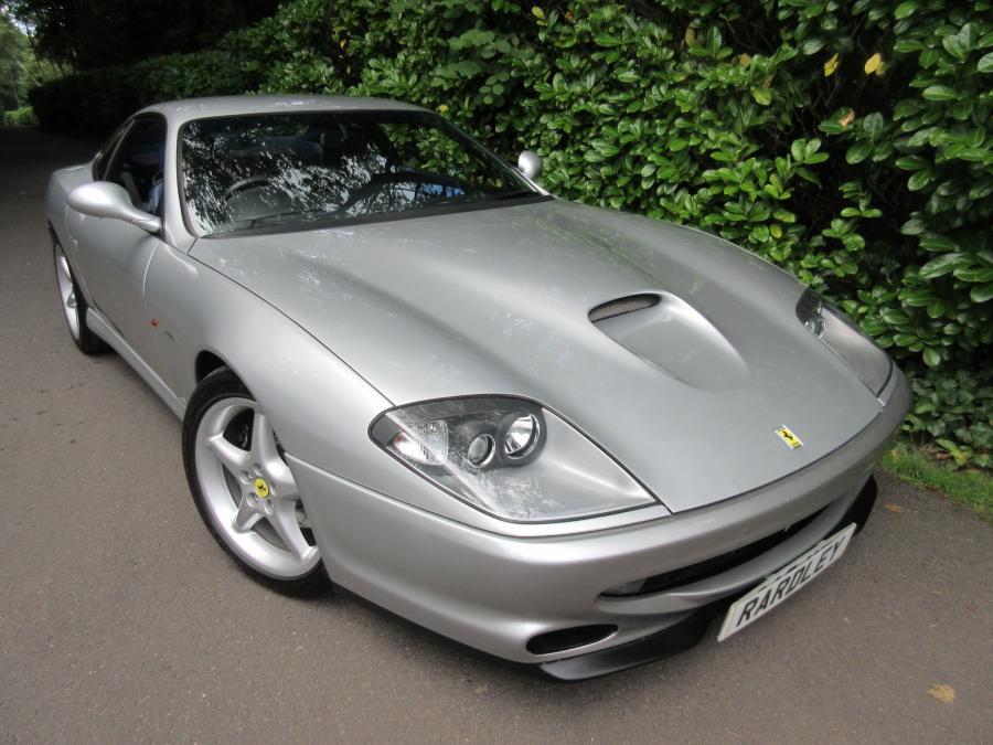 1997 Ferrari 550 Maranello-two owners/35,000 miles