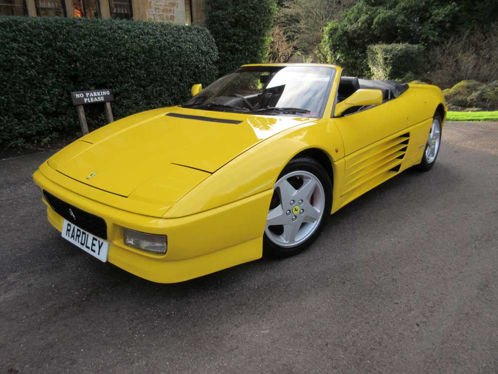 SOLD-ANOTHER REQUIRED Ferrari 348 Spider