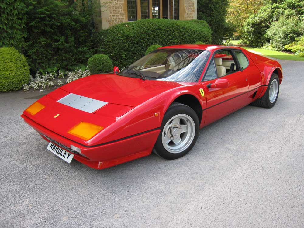 1982 Ferrari 512 BBi Left hand drive 23,000kms/14,000 miles