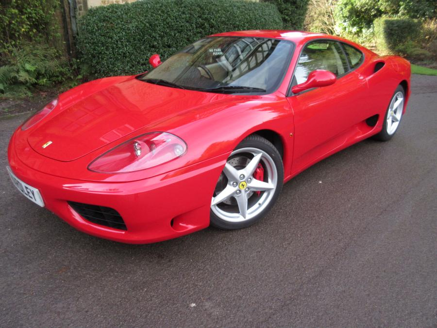 2004 Ferrari 360 Modena manual