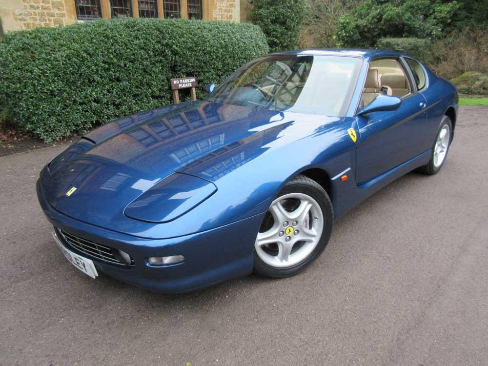 1999 Ferrari 456 M GTautomatic