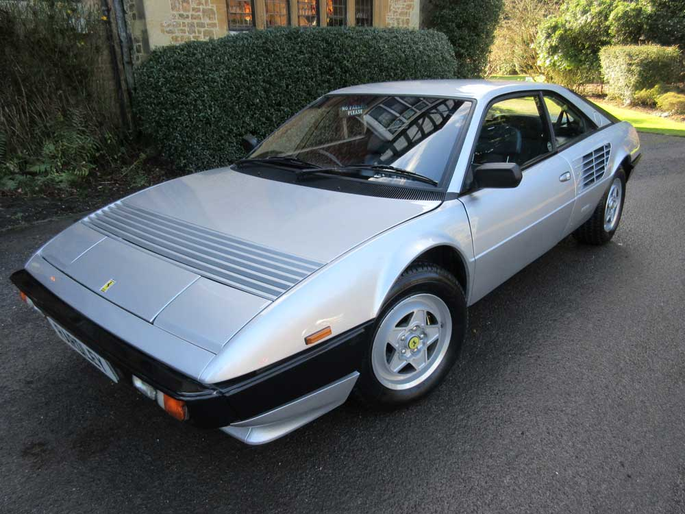 1981 Ferrari Mondial 8-London and Scottish Motor Show car