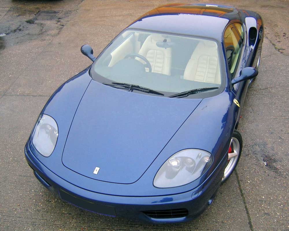 2000 Ferrari 360 Modena in Blu Tour de France