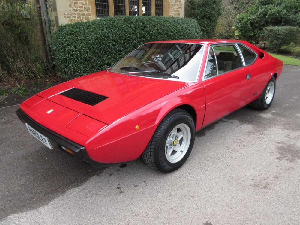 1977 Ferrari 308 GT4-Last family 29 years.