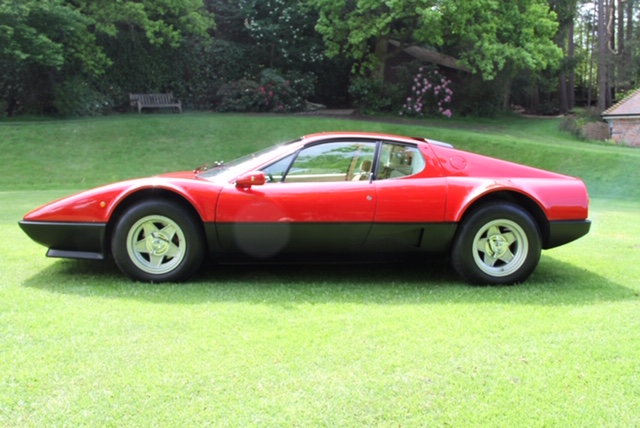 1979 Ferrari 512 BB Classiche certified with only 15,000 miles