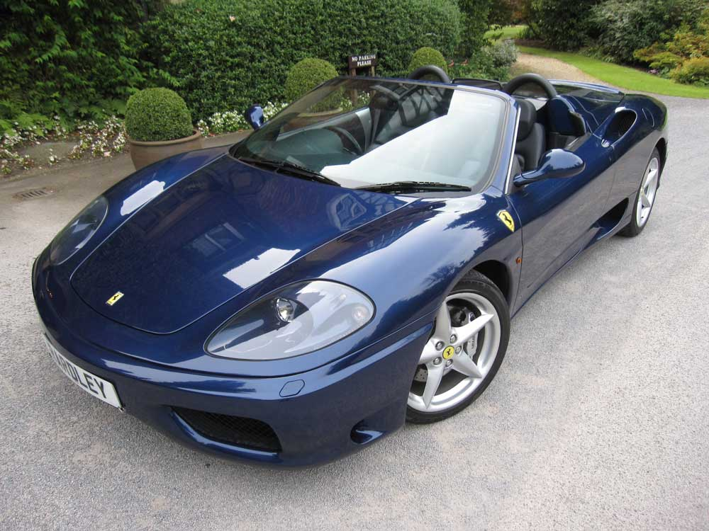 2003 Ferrari 360 Spider 6-speed manual