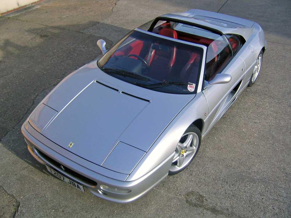1999 Ferrari 355 GTS-six speed manual