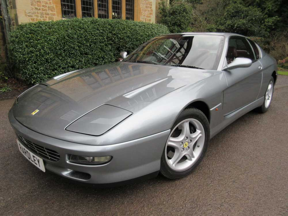 1997 Ferrari 456 GT automatic -One of 61 UK delivered cars.