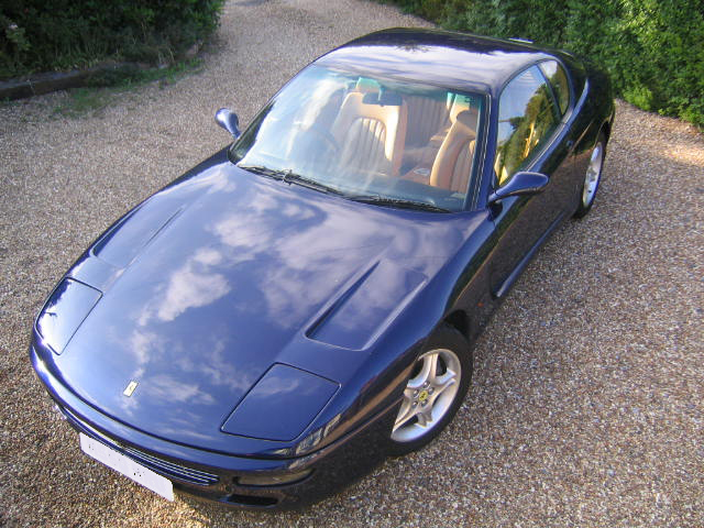 SOLD-ANOTHER REQUIRED 1994 Ferrari 456 GT -ex Nigel Mansell