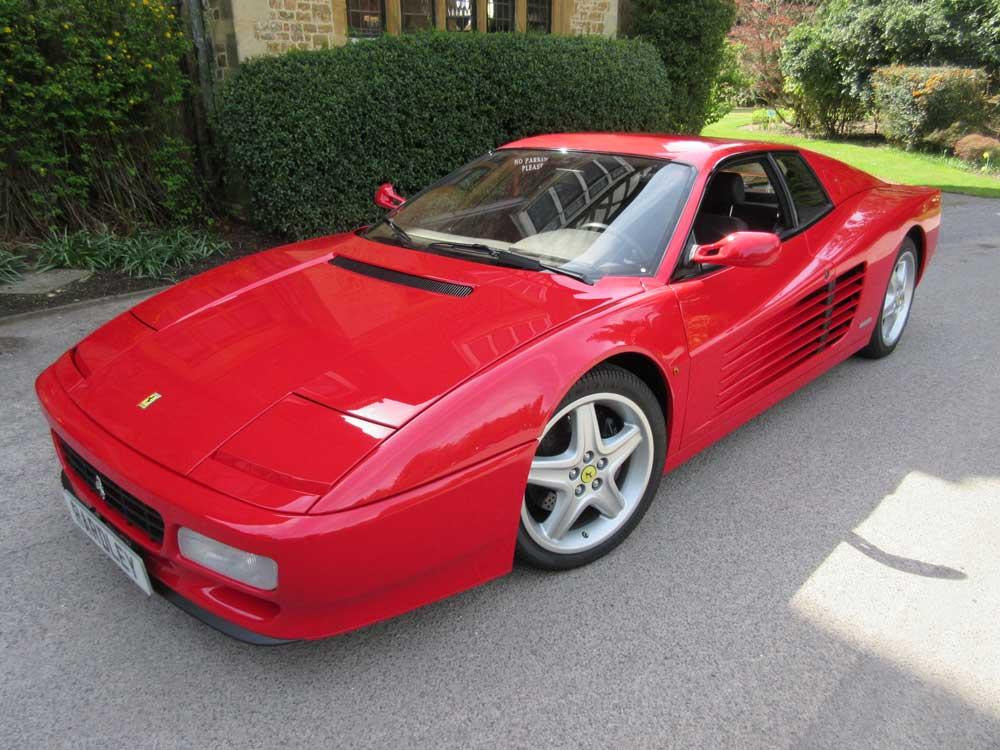 1992 Ferrari 512 TR-8,000 kms