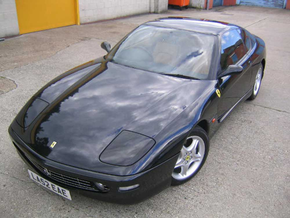 SOLD-ANOTHER REQUIRED 2002 Ferrari 456 M GT-six speed manual