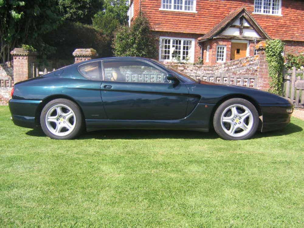 1997 Ferrari 456 GT 6-speed manual in Verde Silverstone