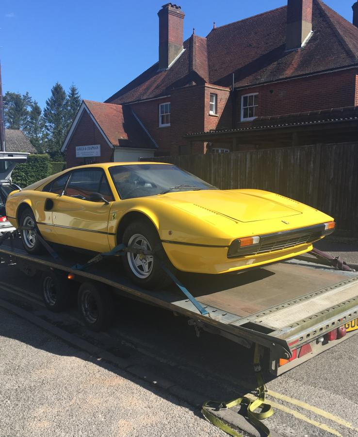 SOLD-ANOTHER REQUIRED  Ferrari 308 fibreglass GTB-Dry sump/Matching numbers