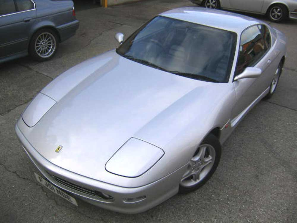 2001 Ferrari 456 Modificato 6-speed manual