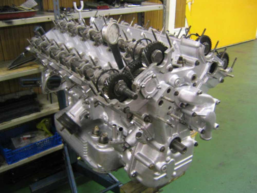 Rebuild of Daytona Engine