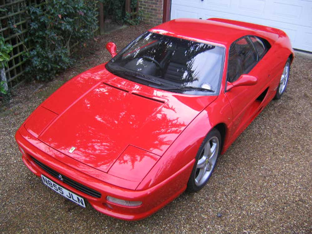 1996 Ferrari 355 Berlinetta.Only 11,600 miles.