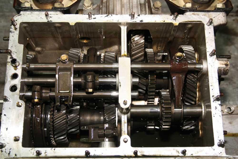 246 gearbox overhaul
