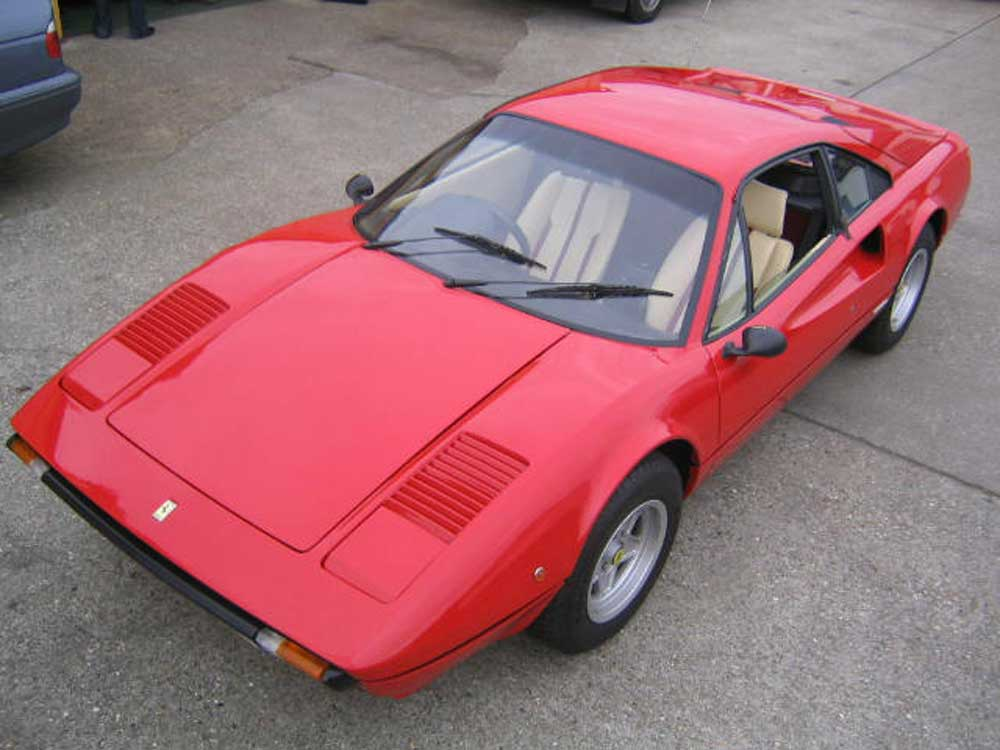 Delighted 308 GTB buyer in Hong Kong writes